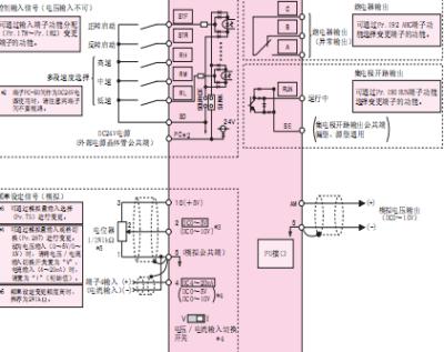 三菱d700变频器接线图